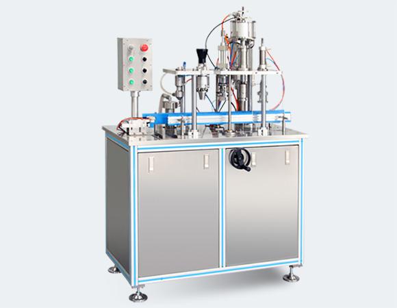 semi-automatic aerosol filling machine b-pt-540