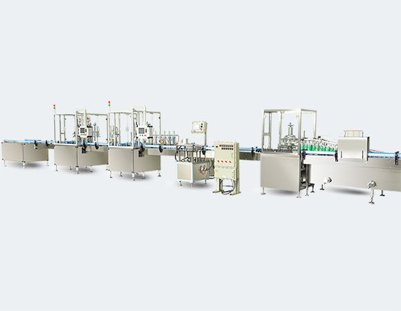full automatic bag on valve aerosol production line q-ey-4000p