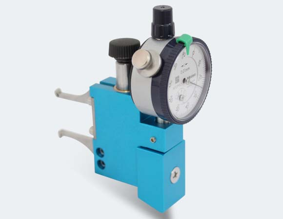 aerosol crimping depth & width gauge