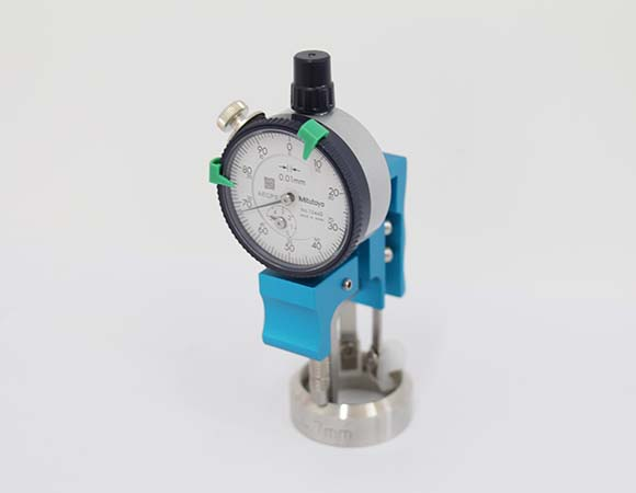 aerosol crimping diameter gauge