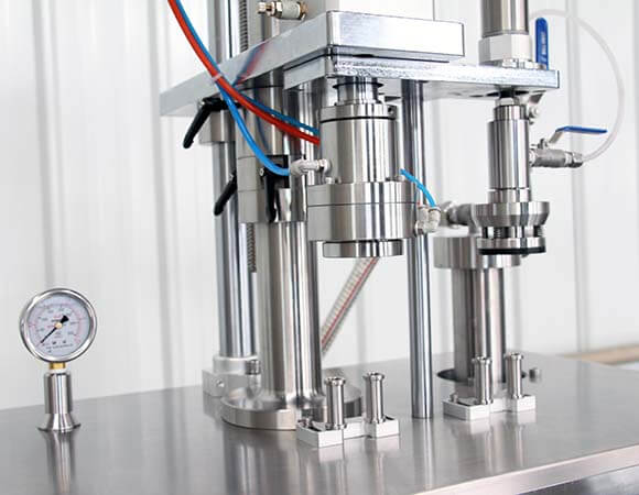 Semi-automatic BOV aerosol filling machine catagory b-ey-2000 detailed picture 1