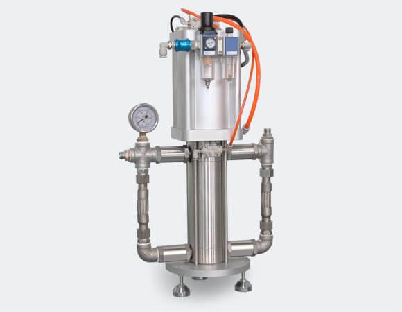 aerosol gas booster pump