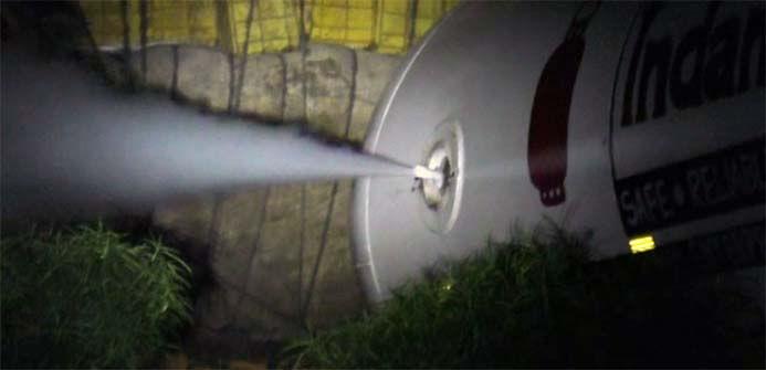 LPG leak