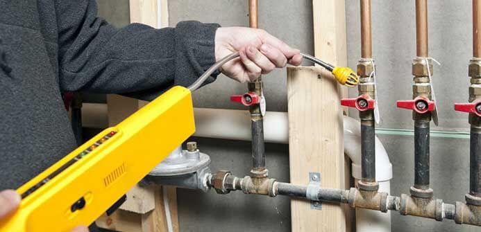 LPG leak detect